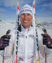 Cross country skiing Fredrik Erixon